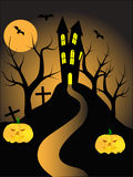 A halloween vector illustration Stock Photos