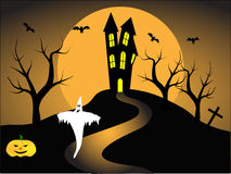 A halloween vector illustration Royalty Free Stock Photo