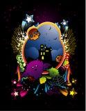 Halloween vector illustration Stock Photos