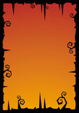 Halloween vector illustration background Royalty Free Stock Photo