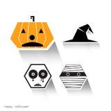 Halloween vector illustration idea Royalty Free Stock Photography