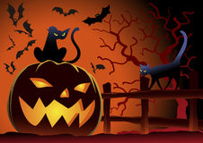 Halloween Vector Illustration Royalty Free Stock Photography