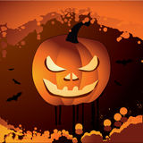 Halloween vector illustration scene Stock Photography