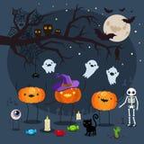 Halloween vector illustration. Royalty Free Stock Photos