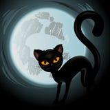 Halloween vector Illustration  on white Stock Images