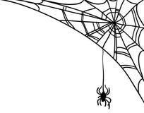 Halloween vector Illustration  on white Royalty Free Stock Photo