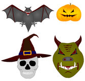 Halloween. Vector images Royalty Free Stock Image