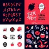 Halloween Vector Pack Stock Image