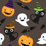 Halloween vector pattern Royalty Free Stock Images