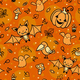 Halloween vector pattern. Royalty Free Stock Photography