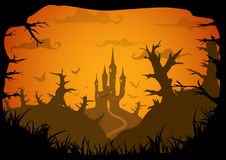 Halloween vector poster Stock Image