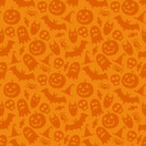 Halloween vector seamless pattern Stock Photography