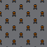 Halloween vector seamless pattern Stock Photography