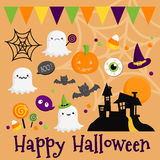 Halloween vector set Stock Image