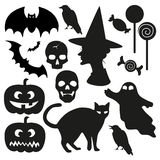 Halloween vector set Stock Images
