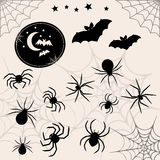 Halloween vector symbols collection. Royalty Free Stock Photo