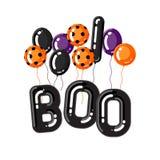 Halloween vector template Royalty Free Stock Photos