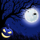 Halloween vektorillustration Royaltyfria Bilder