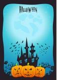 Halloween-vektorkunst Stockbild