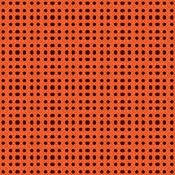 Halloween-Vektortupfenhintergrund Orange und schwarze dunkle endlose nahtlose Beschaffenheit Danksagungstagesmuster Stockfotografie