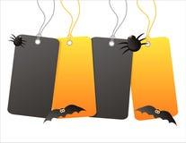 Halloween-Verkaufsmarken lizenzfreie abbildung