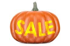 Halloween-verkoopconcept, het 3D teruggeven Stock Foto's
