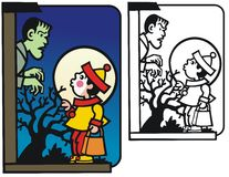 Halloween-verrassing Royalty-vrije Stock Foto's