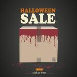 Halloween-verrassingsdoos vector illustratie