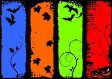 Halloween vertical banners, set Stock Image