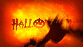 Halloween Video Footage Animation - stock video footage