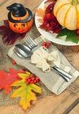 Halloween-viering stock foto's