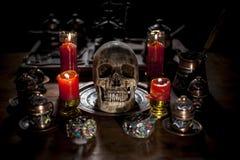 Halloween-viering Stock Afbeeldingen