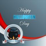 Halloween, vieringsachtergrond Royalty-vrije Stock Foto's