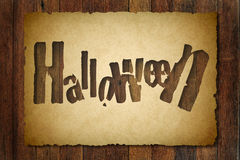 Halloween vintage background Royalty Free Stock Photo