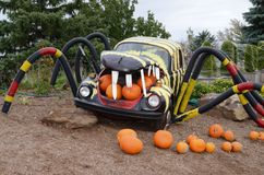Halloween Volkswagen display Stock Image