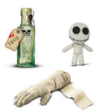 Halloween voodoo mummy poison Royalty Free Stock Photography