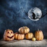 Halloween-Vorabend Stockfoto