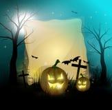 Halloween w dynie Zdjęcie Royalty Free