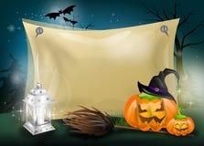 Halloween w dynie Obrazy Stock