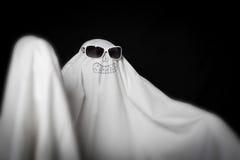 Halloween w okulary przeciwsłoneczne duch Obraz Stock