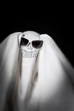 Halloween w okulary przeciwsłoneczne duch Fotografia Stock