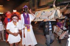 Halloween w San Agustin - Kolumbia Fotografia Royalty Free