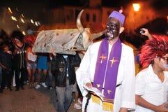 Halloween w San Agustin - Kolumbia Fotografia Stock