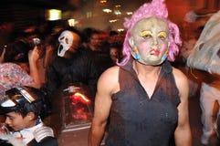 Halloween w San Agustin - Kolumbia Zdjęcie Royalty Free
