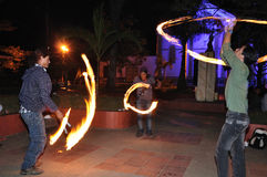Halloween w San Agustin - Kolumbia Zdjęcia Royalty Free
