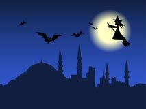 halloween wallpaper Arkivfoto