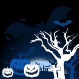 Halloween wallpaper Stock Image
