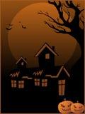 Halloween wallpaper illustration Stock Photo