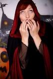 halloween wampira kobieta Fotografia Stock