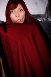 halloween wampira kobieta Obrazy Stock